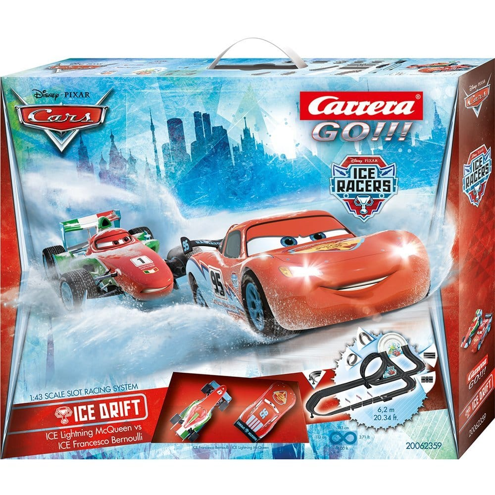 Circuit Carrera Go!!! et Disney  Pixar Cars Ice Drift