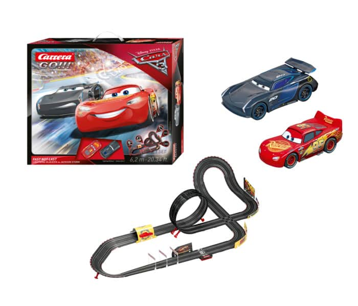 Carrera GO - Disney Pixar Cars 3 - Fast Not Last