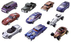 Hot Wheels - 54886 - Véhicule Miniature - Coffret 10 Voitures