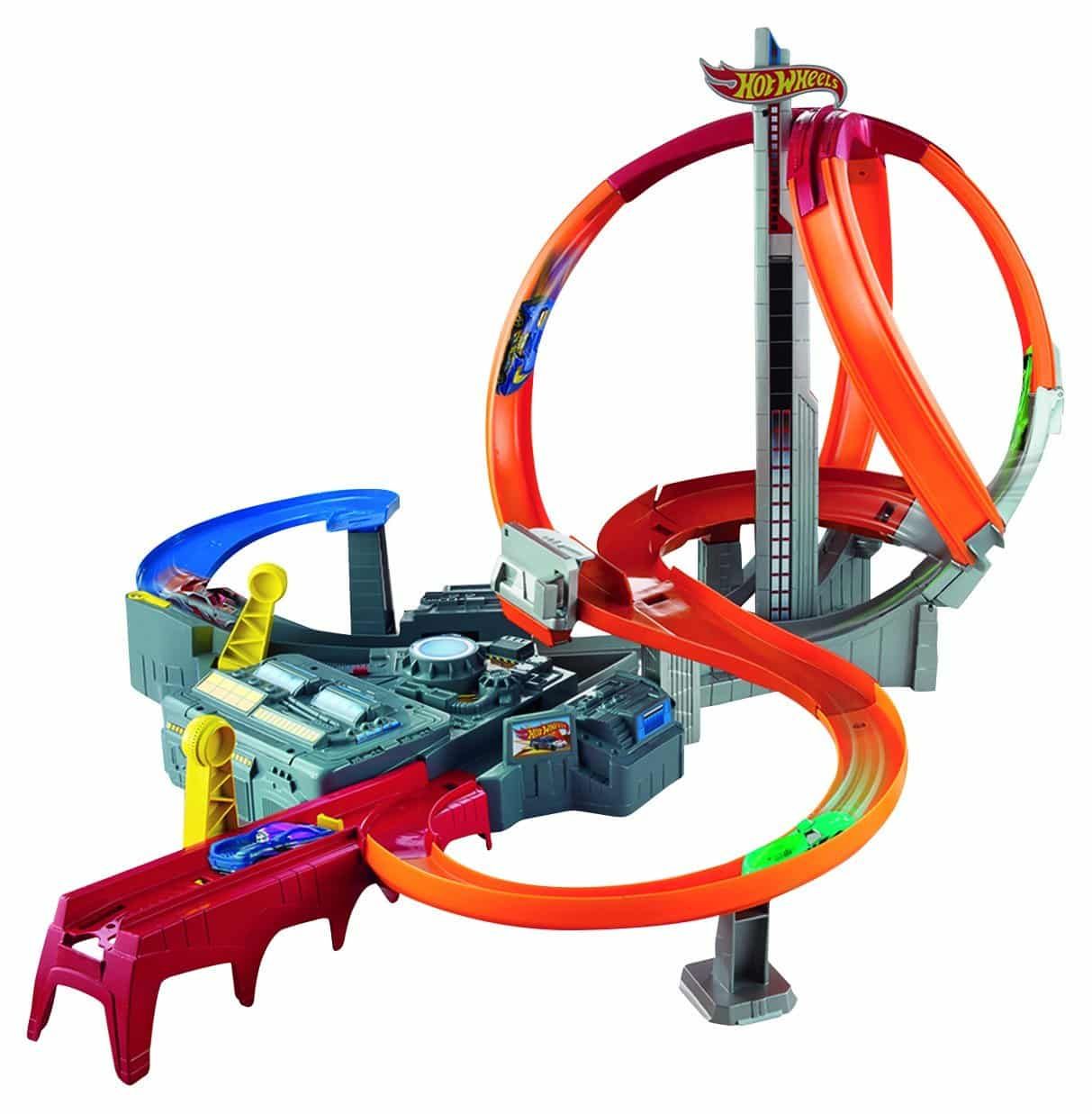Spin Storm Track Set Hot Wheels