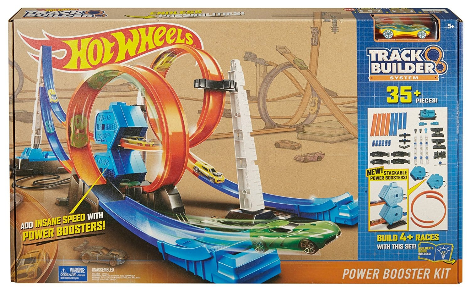 Piste Hot Wheels, le Double Super Lanceur