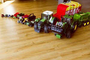 Voiture et jouet agricole pour enfant